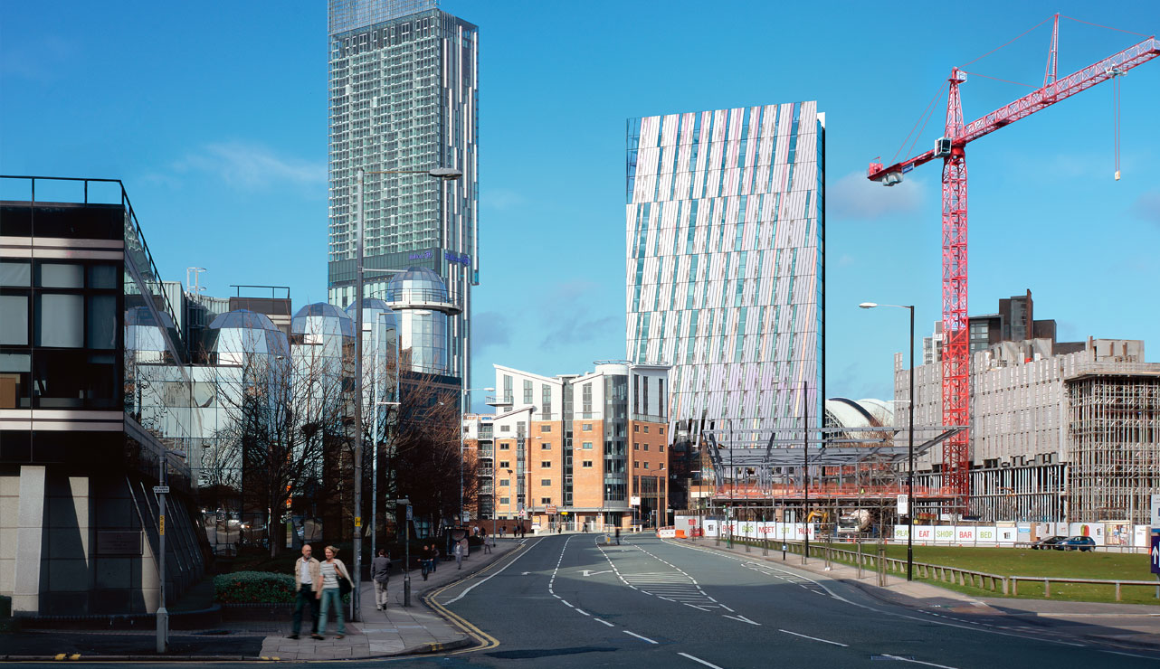 Manchester is developing in the next ten years with new homes and apartments